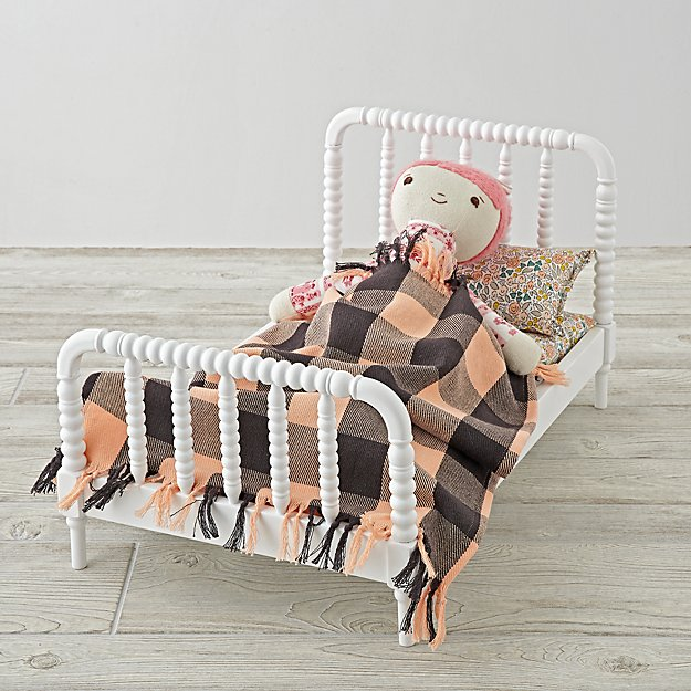 Jenny Lind Doll Bed and Cozy Doll Bedding Set