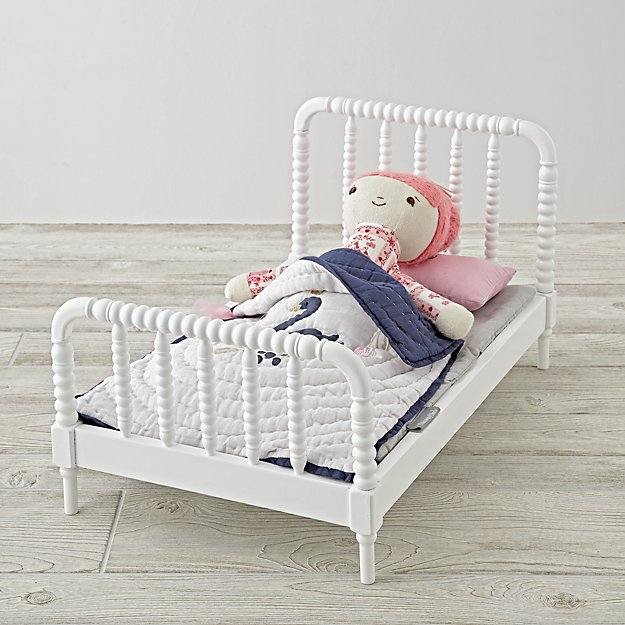 Jenny Lind Doll Bed and Swan Bedding Set