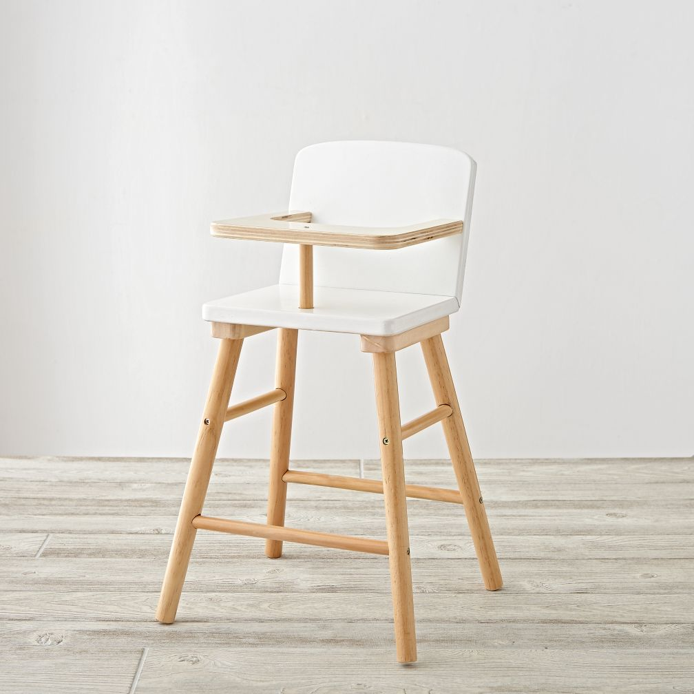 mod doll high chair the land of nod