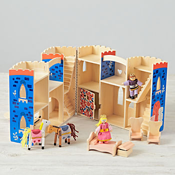 Melissa and Doug Fold n' Go Castle