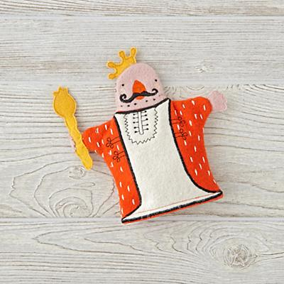 Medieval King Hand Puppet