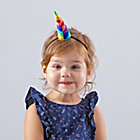 Rainbow Unicorn Headband.