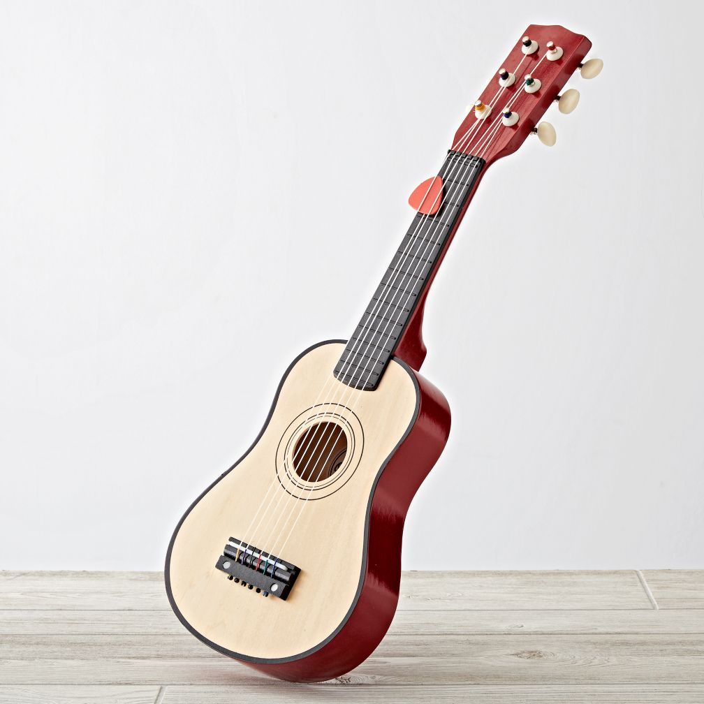 Kids Wooden Toy Guitar The Land Of Nod
