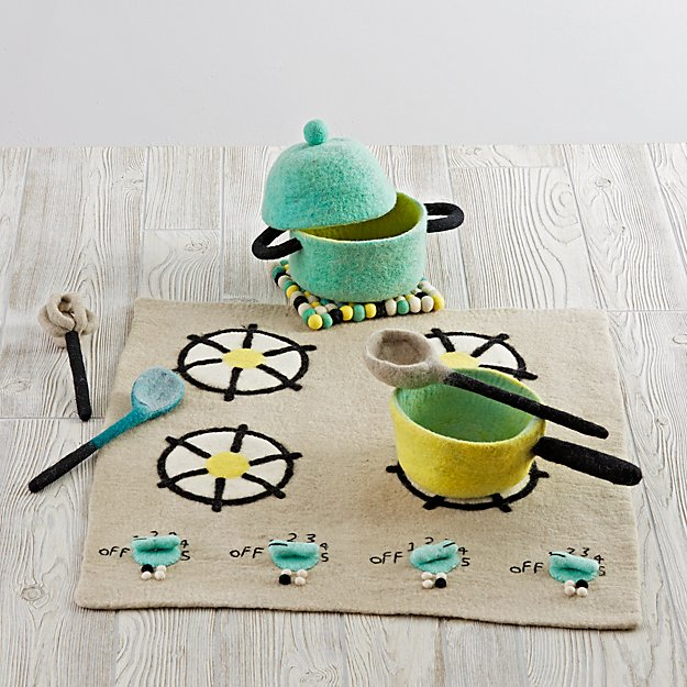 Felt Gourmet Plush Cooking Set