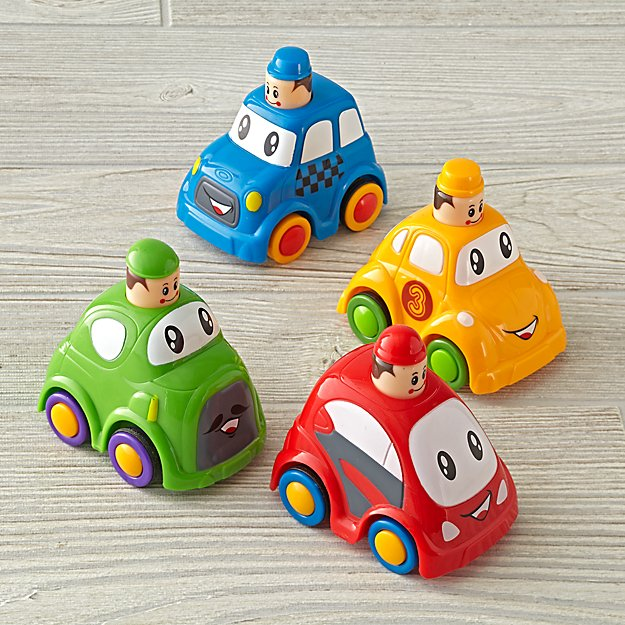 Mini Push and Go (Color Varies)