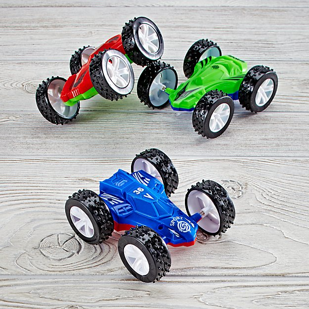 Double Sided Flip Car (Color Varies)