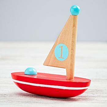 Nautical Boat (Red)