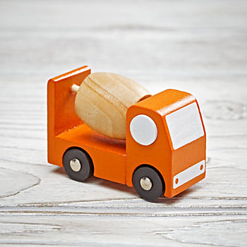 Toy Vehicle (Mixer Truck)