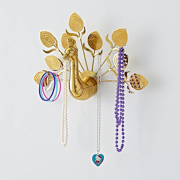 Peacock Jewelry Hanger