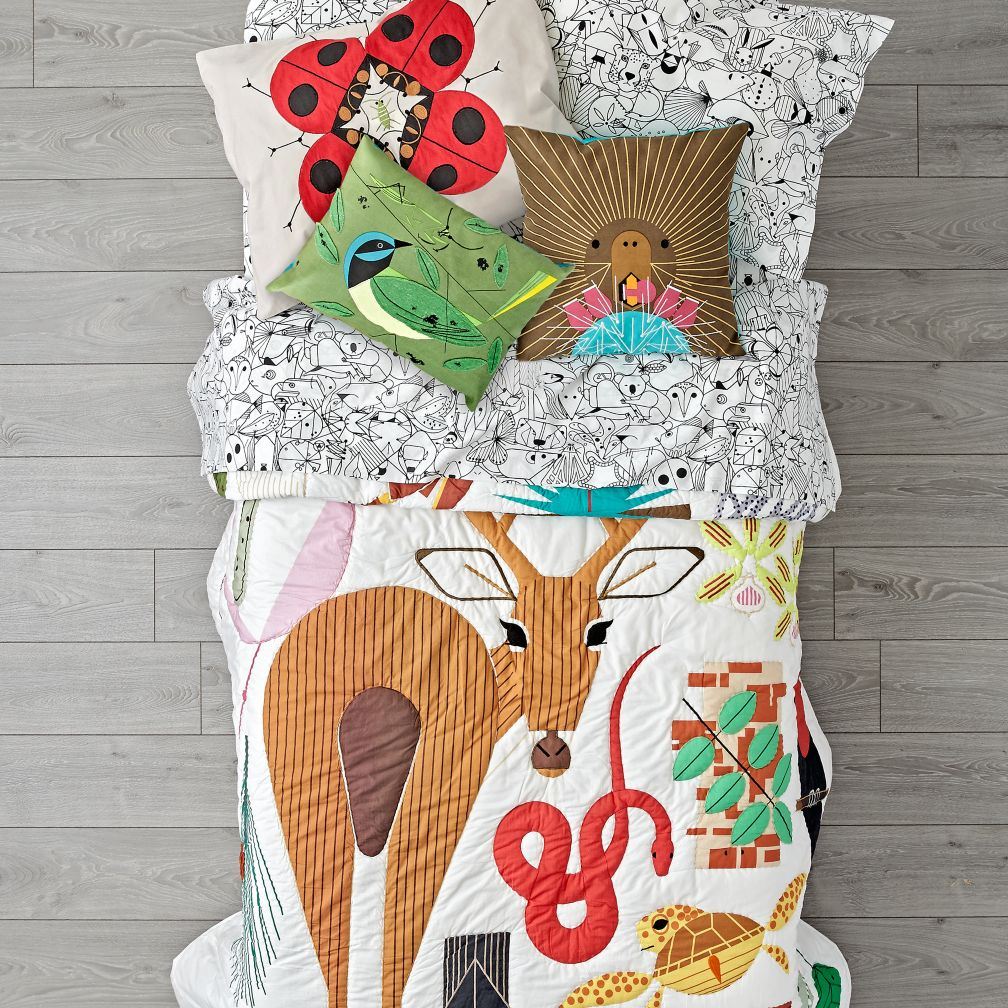 Charley Harper Florida Keys Bedding