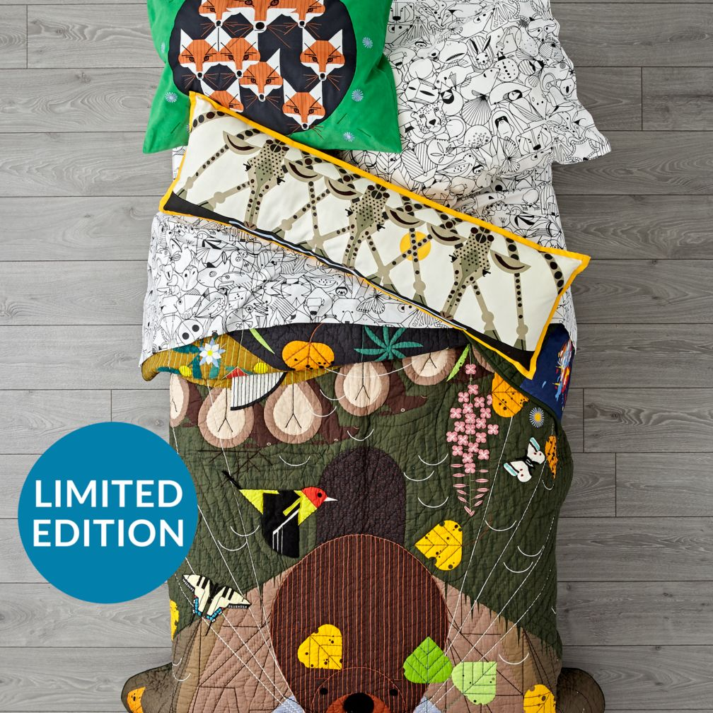 Limited Edition Charley Harper Rocky Mountains Quilt