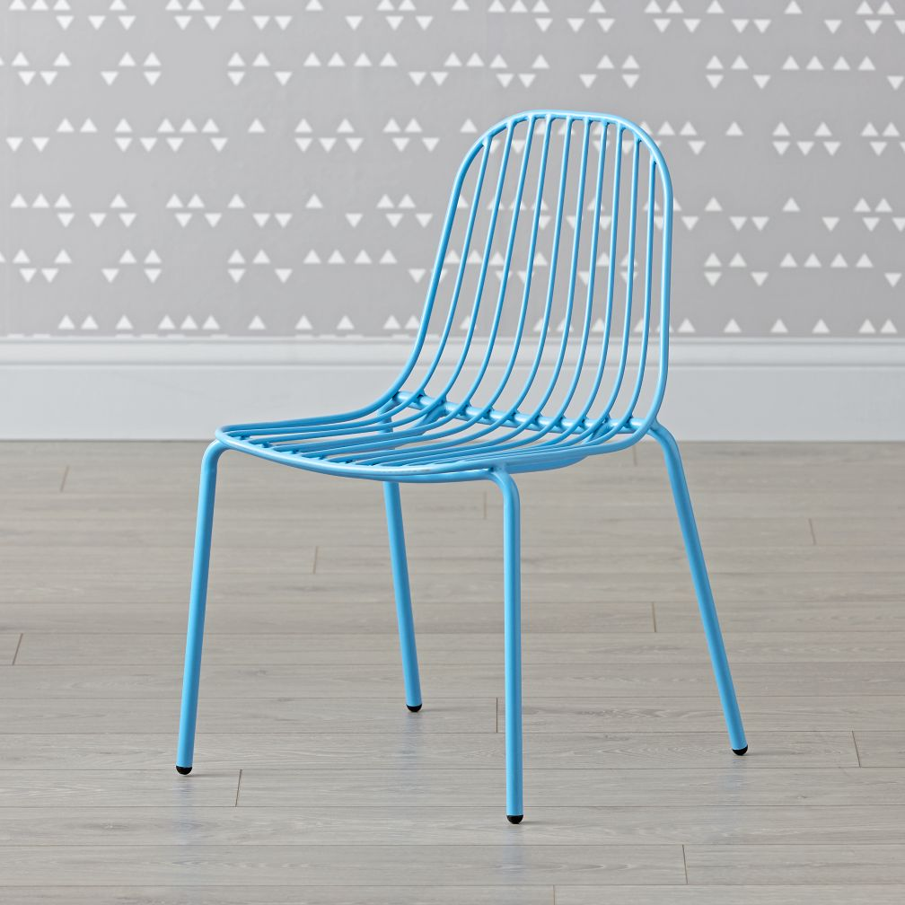 Mini Resonate Blue Kids Chair