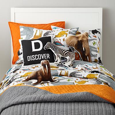 Organic Welcome to the Jungle Duvet Cover