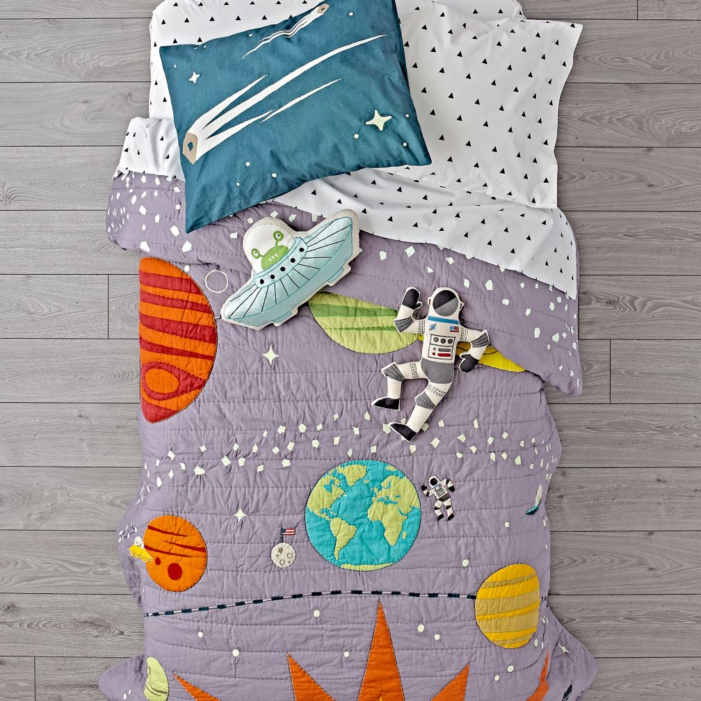 Cosmos Glow in the Dark Quilt