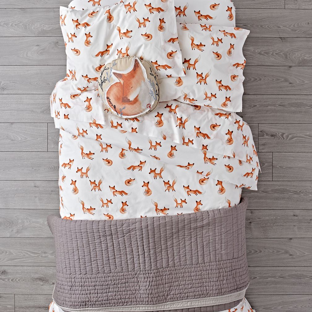 Organic Fox Bedding