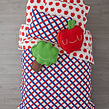 Red and Blue Toddler Room