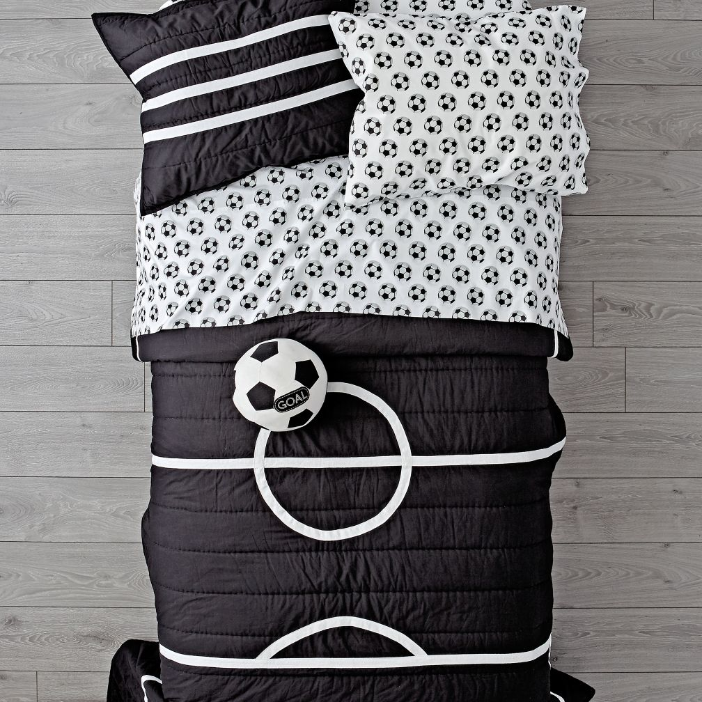 Nod Soccer Bedding
