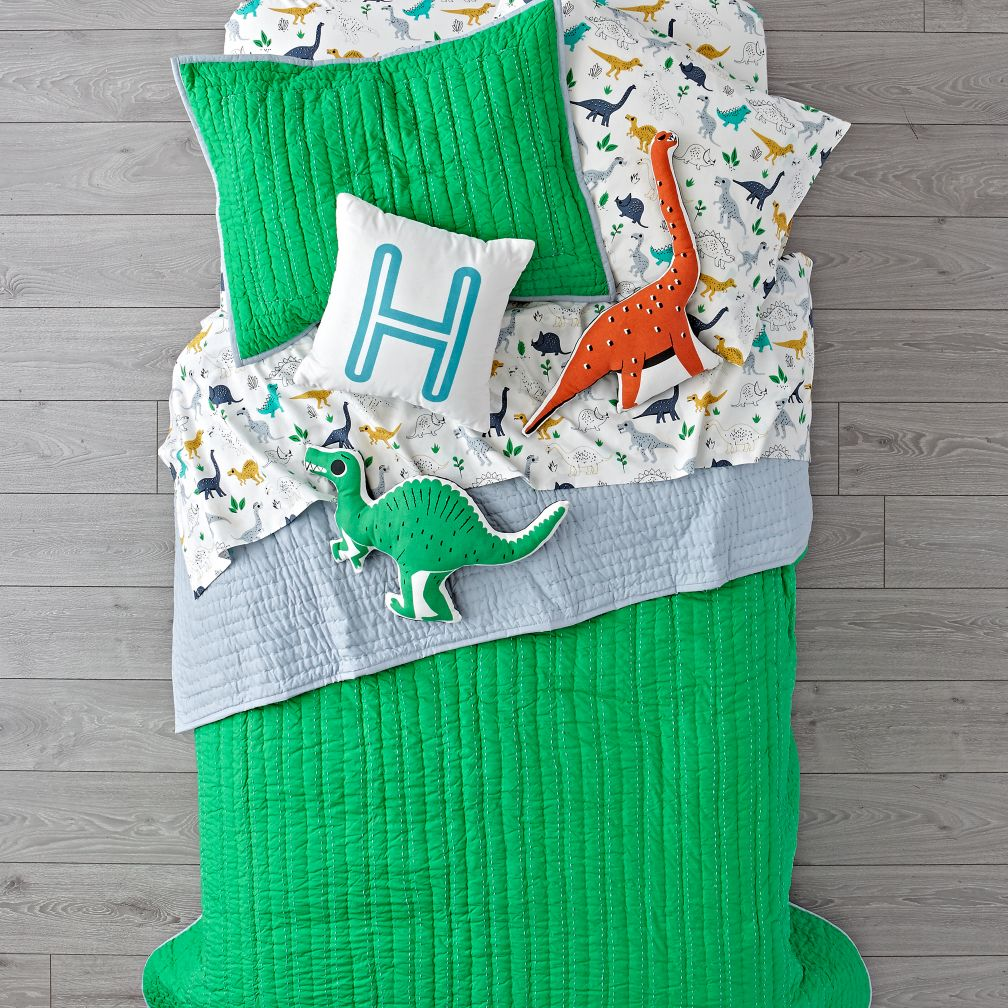 Stitched Green Blanket