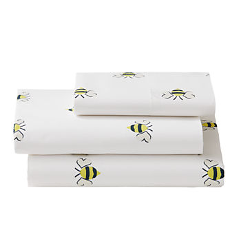 Organic Bee's Knees Twin Sheet Set