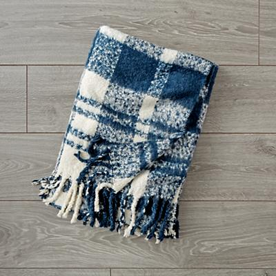 Kids_Blanket_Plaid_Fringe_Navy_LL