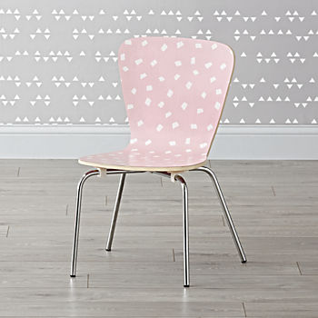 Little Felix Pink Confetti Kids Chairs