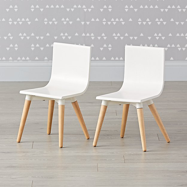 Set of 2 Pint Sized Chairs