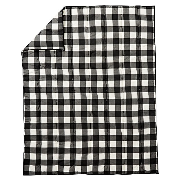 Buffalo Check Black Full-Queen Comforter