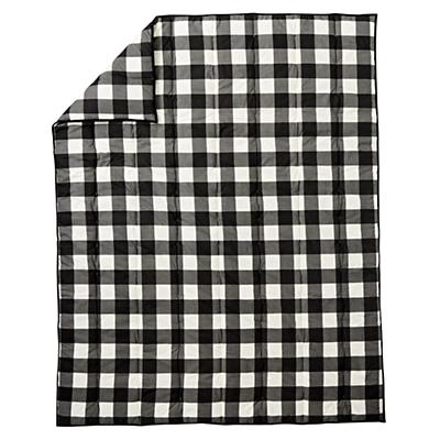 Kids_Comforter_Buffalo_Check_Black_Silo
