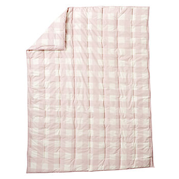 Buffalo Check Pink Twin Comforter