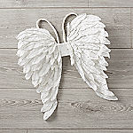 Metallic Angel Wings