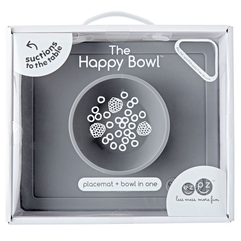 ezpz Happy Bowl (Grey)