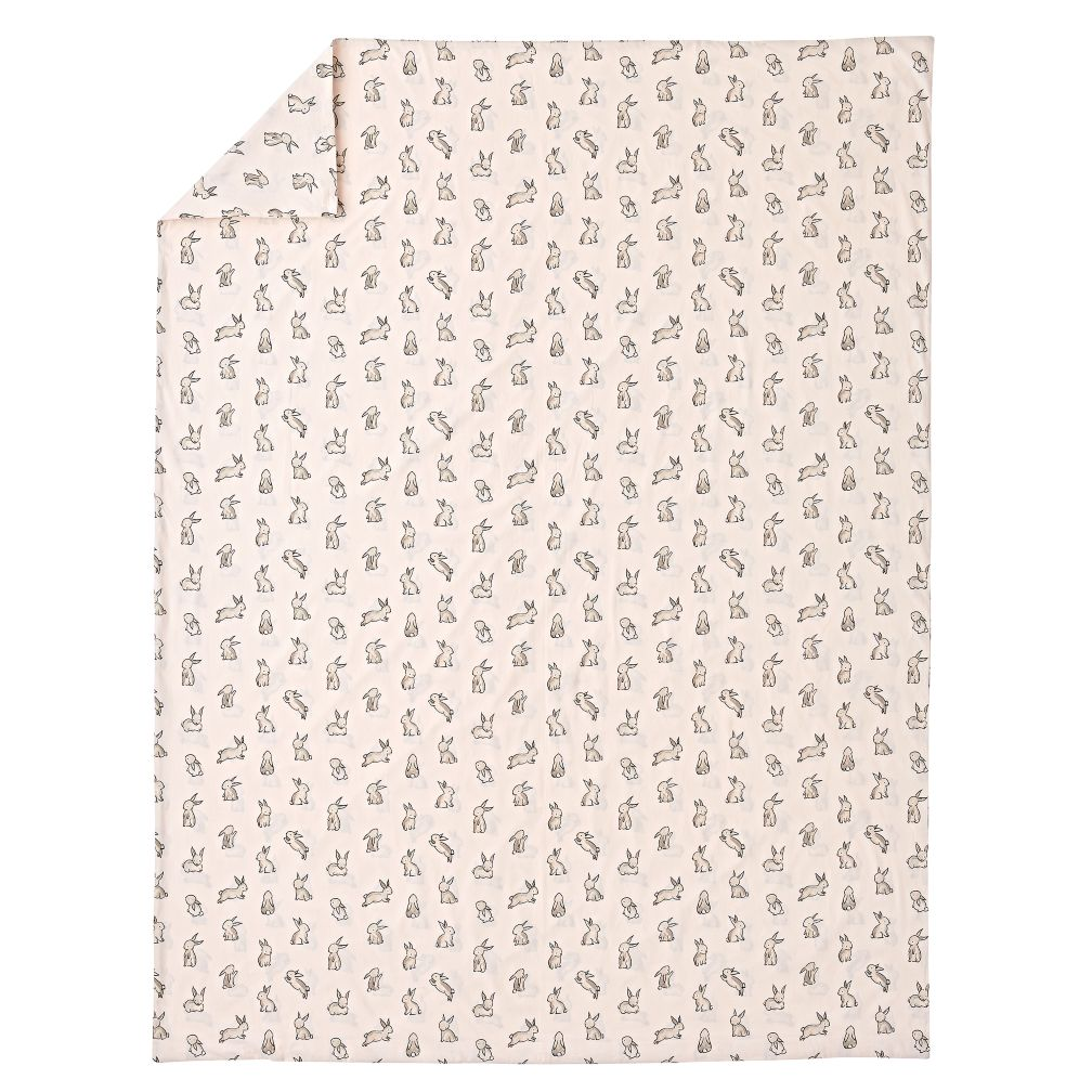 Organic Bunny Twin Duvet Cover