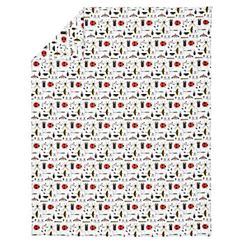 Organic Charley Harper Bug Full-Queen Duvet Cover