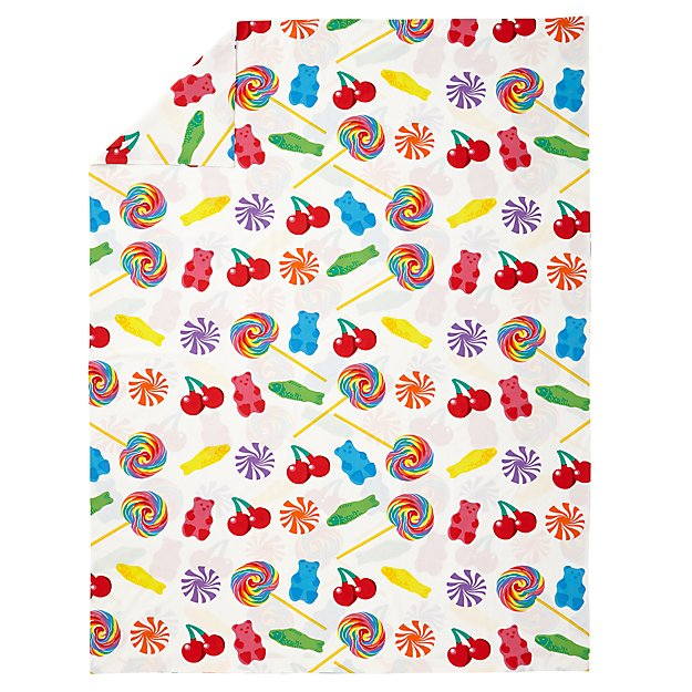 Dylan's Candy Bar Organic Twin Duvet Cover
