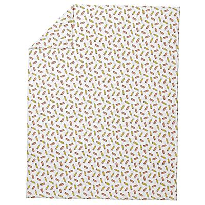 Kids_Duvet_Cover_School_Supplies_Yellow_Silo
