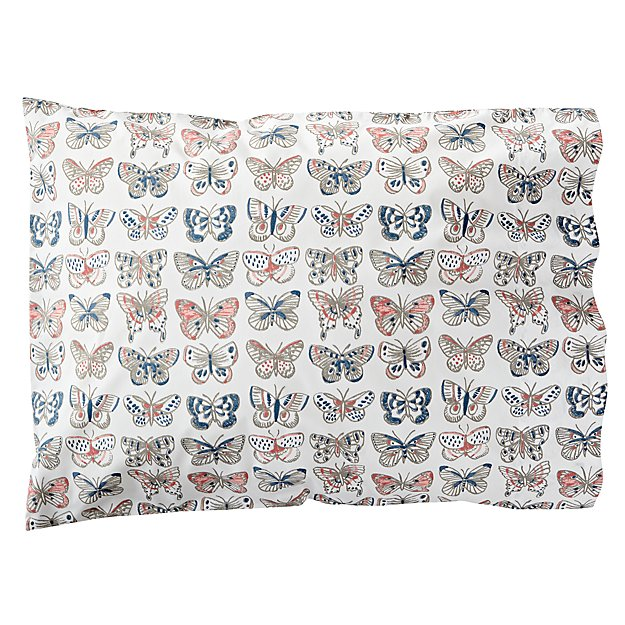 Organic Butterfly Pillowcase