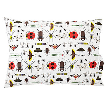 Organic Charley Harper Bug Pillowcase