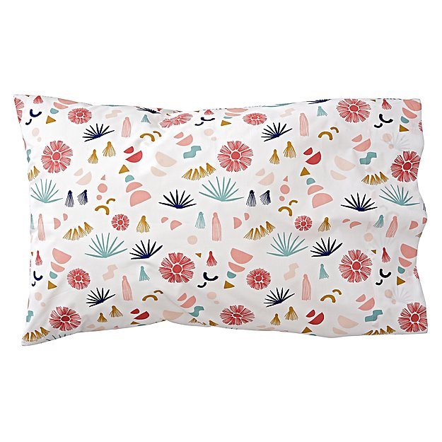 Organic Desert Flora Pillowcase