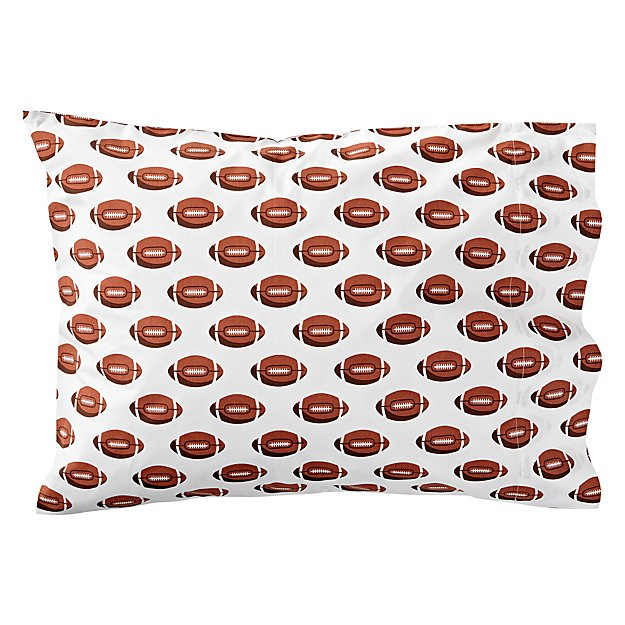Organic Nod Football Pillowcase