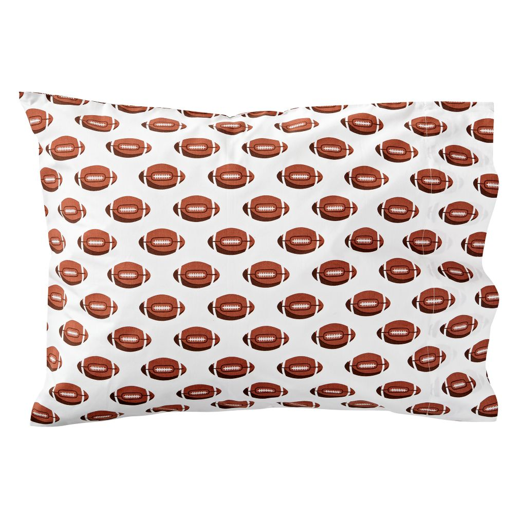 Football Throw Pillow The Land Of Nod