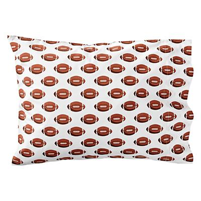 Kids_Pillowcase_Football_Brown_SIlo