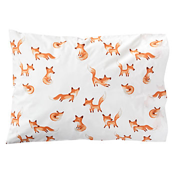 Organic Fox Pillowcase
