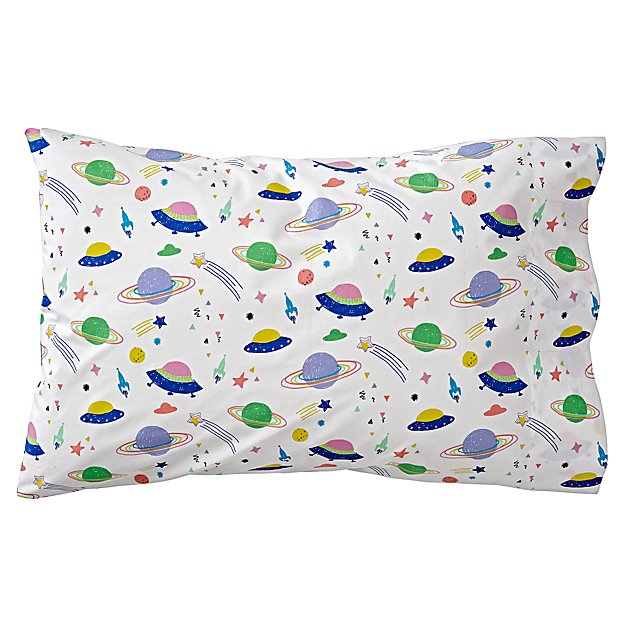 Organic Out of This World Space Pillowcase