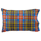 Kids_Pillowcase_Plaid_Black_Silo