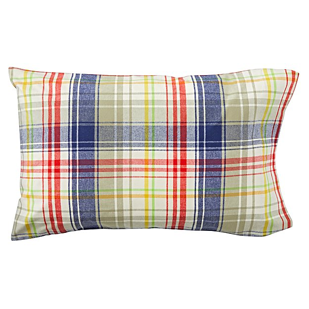 Plaid Flannel Pillowcase
