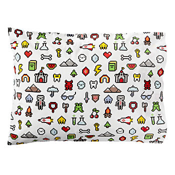 Organic Video Game Pillowcase