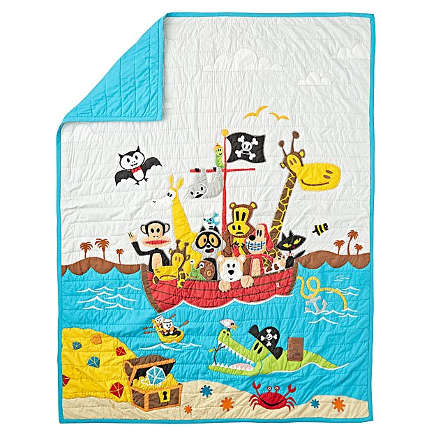 Paul Frank Friends by Sea Twin Quilt