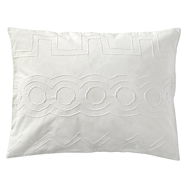 Simply Embroidered Sham