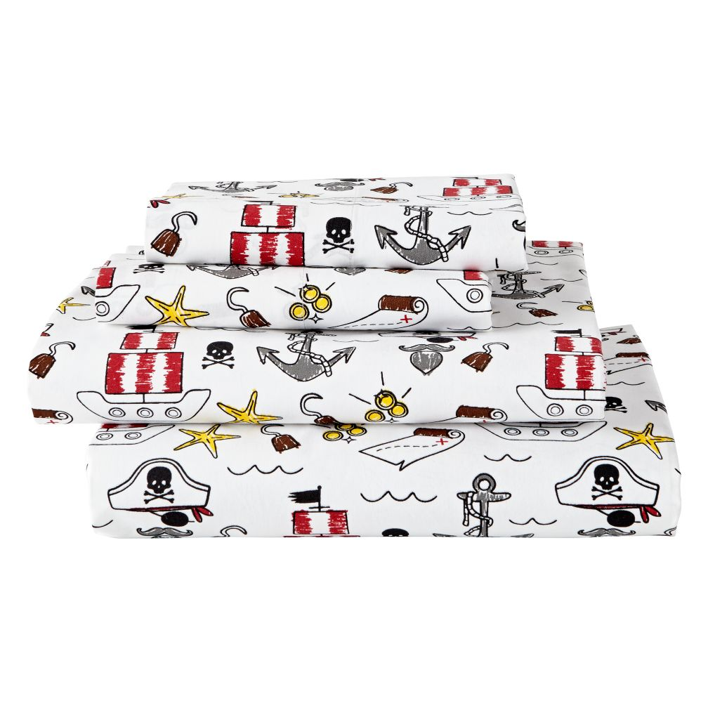 Organic Pirate Sheet Set