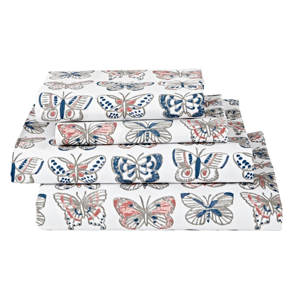 Organic Butterfly Sheet Set